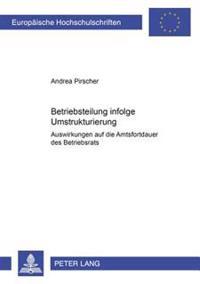 Betriebsteilung Infolge Umstrukturierung: Auswirkungen Auf Die Amtsfortdauer Des Betriebsrats