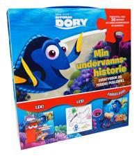 Oppdrag Dory. Min undervannshistorie. Eventyrbok og tosidig puslespill i eske med hanke. - Disney pdf epub