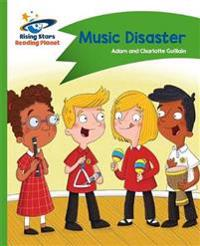 Reading Planet - Music Disaster - Green: Comet Street Kids