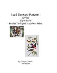 Bead Tapestry Patterns Peyote Tiger Face Scarlet Taningers Audubon Print