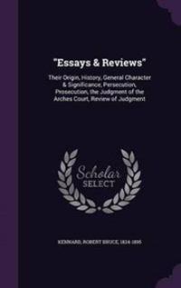 Essays & Reviews