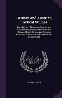German and Austrian Tactical Studies