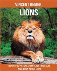 Lions: Beautiful Pictures & Interesting Facts Kids Book about Lions