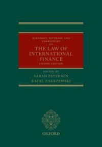 Mcknight, Paterson, and Zakrzewski on the Law of International Finance