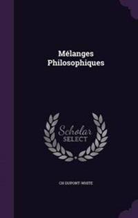 Melanges Philosophiques