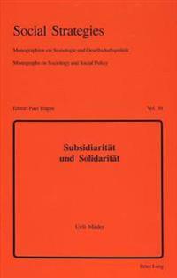 Subsidiaritaet Und Solidaritaet