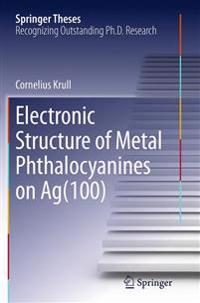 Electronic Structure of Metal Phthalocyanines on Ag(100)