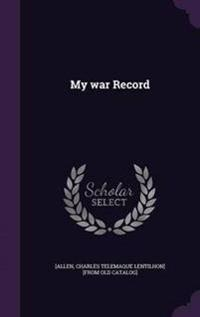 My War Record