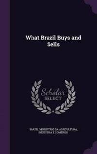 What Brazil Buys and Sells