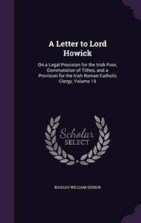 A Letter to Lord Howick