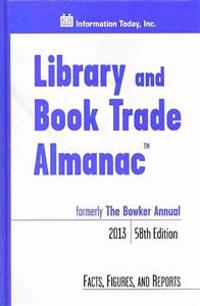 Library and Book Trade Almanac 2013