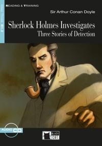Sherlock Holmes Investigates. Buch + Audio-CD