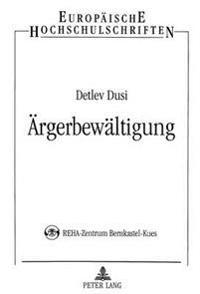 Aergerbewaeltigung: Evaluation Eines Aergerbewaeltigungstrainings Fuer Klinische Gruppen (Aebt-Kg) Im Stationaeren Setting