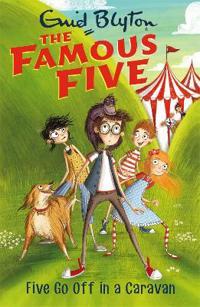 Five go off in a caravan - book 5