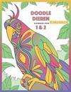 Doodle Dieren Kleurboek voor Kinderen 1 & 2
