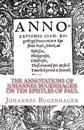 The Annotations of Johannes Bugenhagen on Ten Epistles of Paul