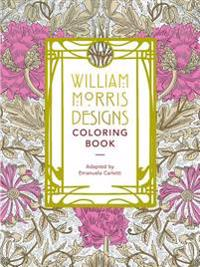 William Morris Designs Coloring Book