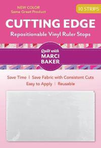 Cutting Edge - Repositionable Vinyl Ruler Stops