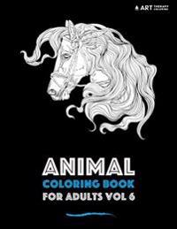 Animal Coloring Book for Adults Vol 6