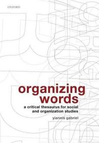 Organizing Words
