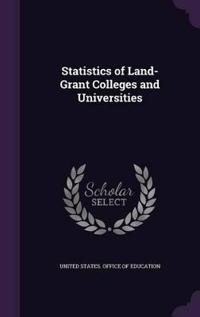 Statistics of Land-Grant Colleges and Universities
