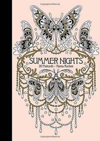 "Summer Nights 20 Postcards: Published in Sweden as ""sommarnatt"""