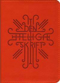 Bibel Fickformat Orange/Röd