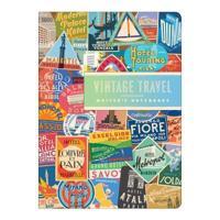 Troy Litten Vintage Travel Labels Writer's Notebook Set