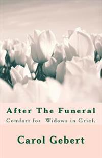 After the Funeral - With Colored Flowers