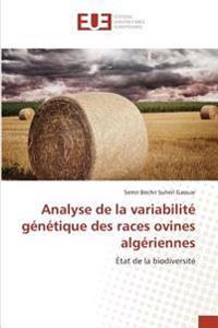 Analyse de la variabilité génétique des races ovines algériennes