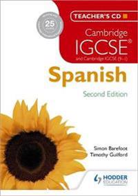 Cambridge IGCSE (R) Spanish Teacher's CD-ROM Second Edition