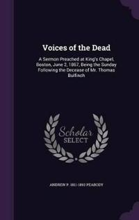 Voices of the Dead