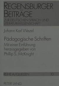 Paedagogische Schriften