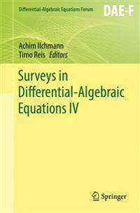 Surveys in Differential-Algebraic Equations 4