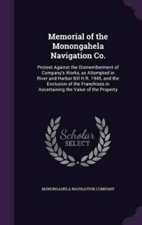 Memorial of the Monongahela Navigation Co.
