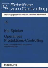 Operatives Produktions-Controlling