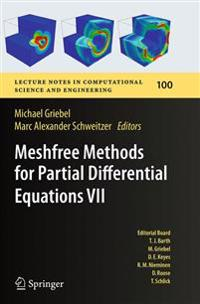 Meshfree Methods for Partial Differential Equations 7