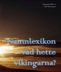 Namnlexikon : vad hette vikingarna