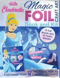 Disney Princess Cinderella Magic Foil Craft Art