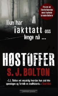 Høstoffer - S.J. Bolton | Inprintwriters.org