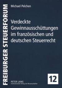 Verdeckte Gewinnausschuettungen Im Franzoesischen Und Deutschen Steuerrecht