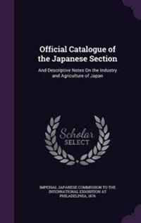 Official Catalogue of the Japanese Section