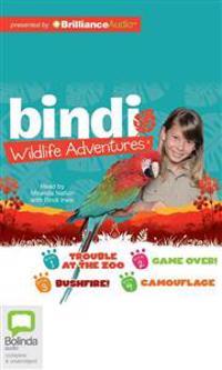 Bindi Wildlife Adventures  Books 1-4 - Bindi Irwin - böcker (9781743113516)     Bokhandel
