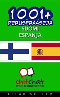 1001+ Perusfraaseja Suomi - Espanja