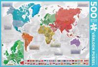 Världen Pussel 500 bitar