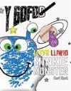Y Gofod: Llyfr Lliwio Minkie Monster