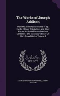 The Works of Joseph Addison