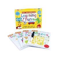 Learning Fun: Four Books and a Pen to Use Over & Over Again!