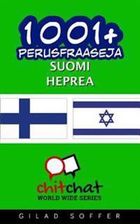 1001+ Perusfraaseja Suomi - Heprea