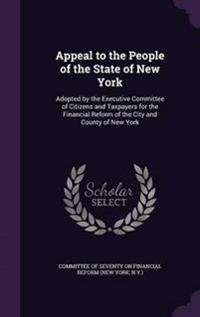 Appeal to the People of the State of New York